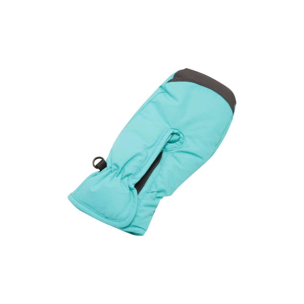 Mountain Warehouse Girls Snowproof Gloves with Fleece lined and Adjustable Cuffs