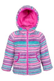Yogi Stripe Junior Fleece