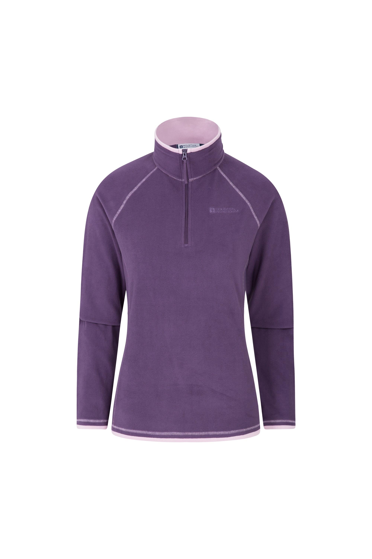 Montana Womens Microfleece - Purple