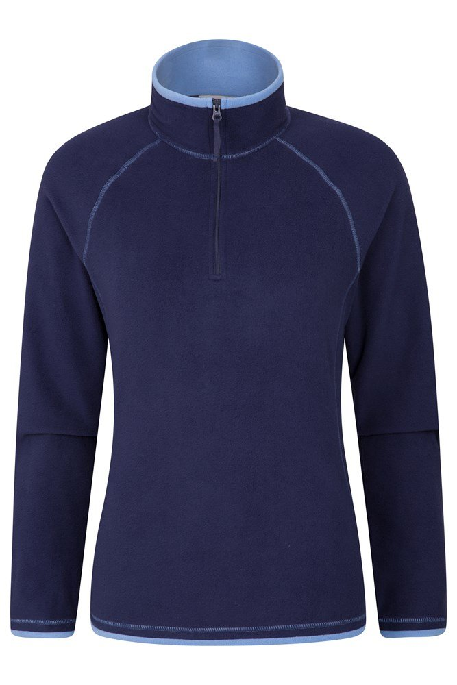 Montana Womens Microfleece - Navy