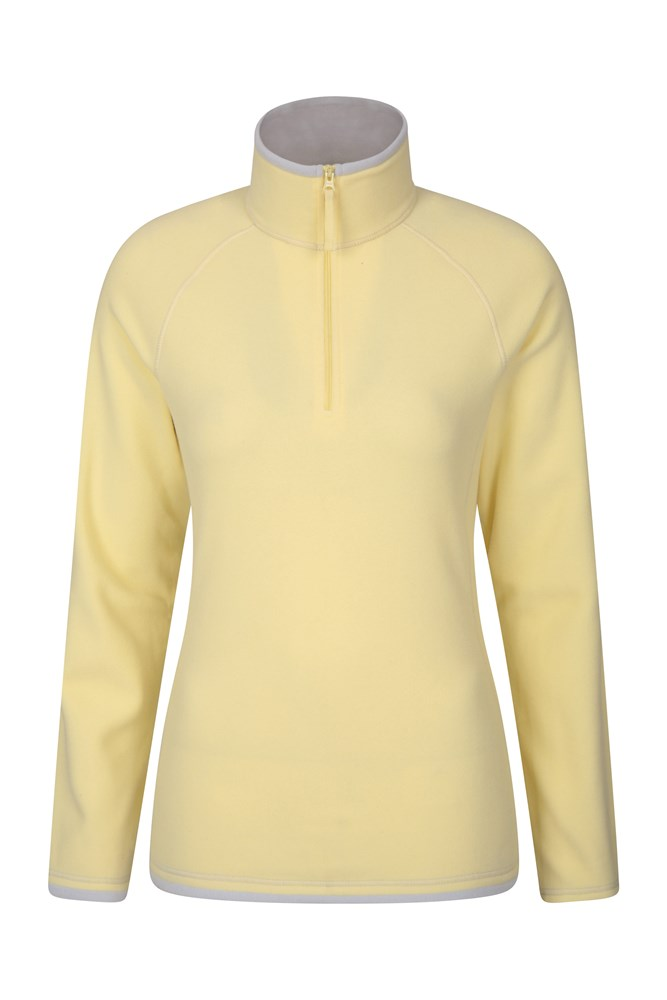Montana Womens Microfleece - Yellow