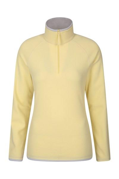 Montana Womens Microfleece - Yellow