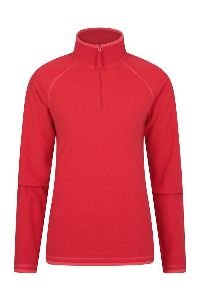 Montana Womens Microfleece - Red