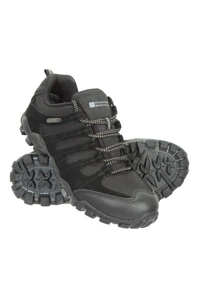 Belfour Womens Outdoor Walking Shoes - Black