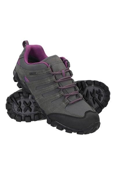 Belfour Womens Outdoor Walking Shoes - Grey