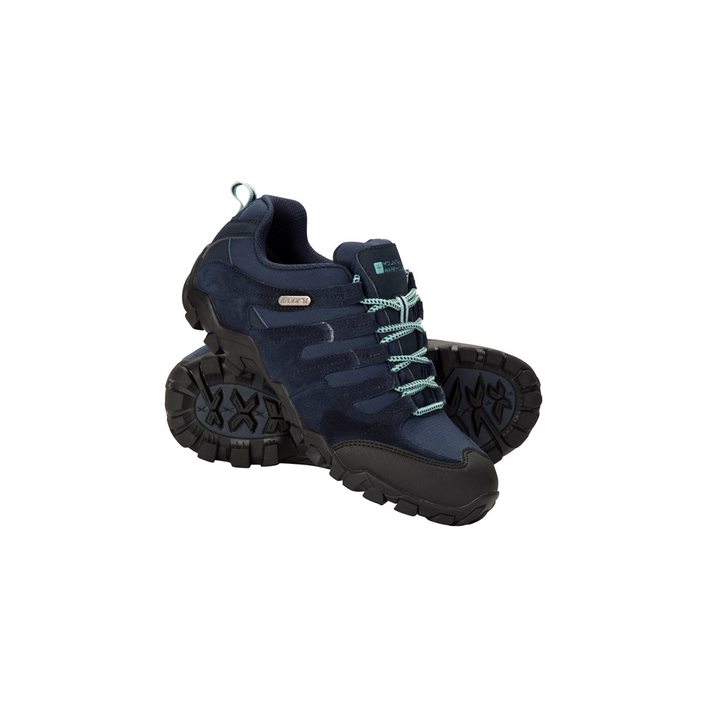 Mountain-Warehouse-Women-039-s-Shoes-with-Suede-and-Mesh-Upper-and-IsoDry-Membrane