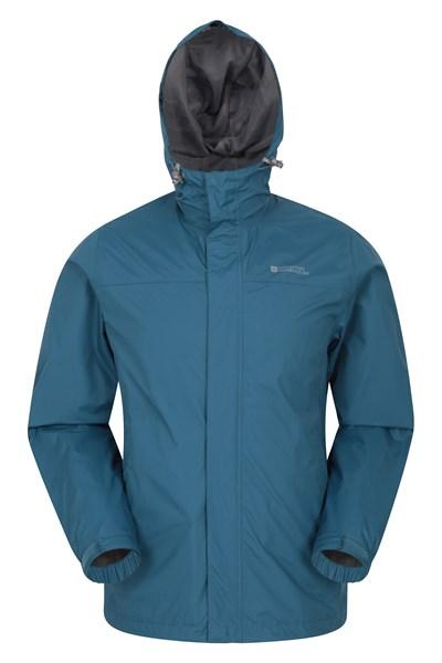 Torrent Mens Waterproof Jacket - Blue