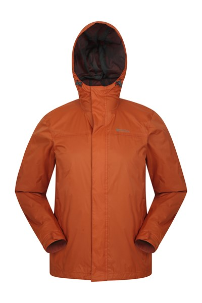 Torrent Mens Waterproof Jacket - Orange