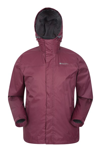 Torrent Mens Waterproof Jacket - Burgundy