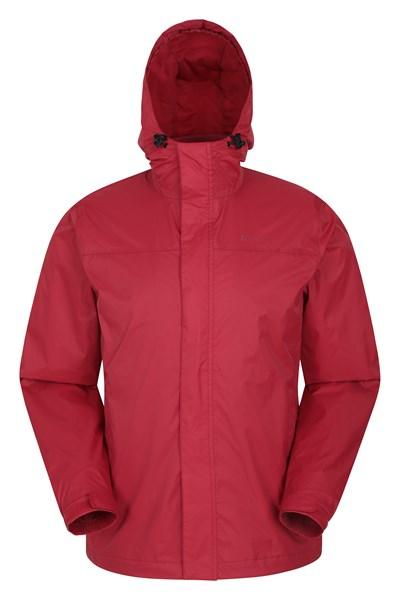 Torrent Mens Waterproof Jacket - Dark Red