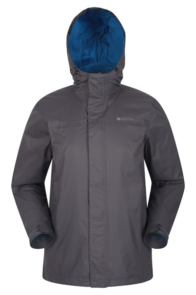 Torrent Mens Waterproof Jacket - Grey