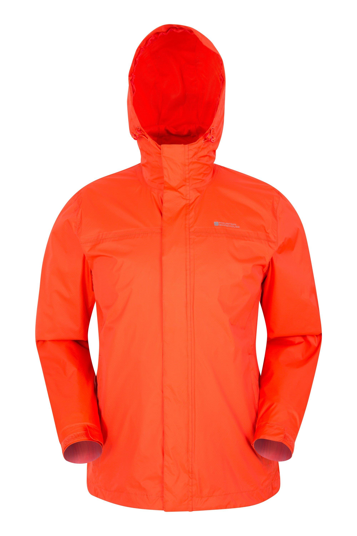 Torrent Mens Waterproof Jacket - Orange
