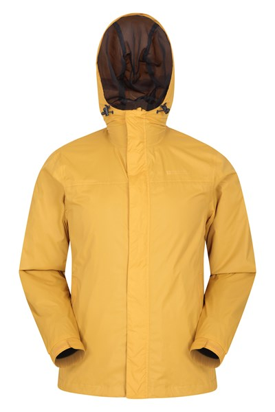Torrent Mens Waterproof Jacket - Yellow
