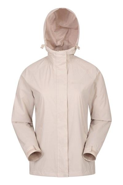 Torrent Womens Waterproof Jacket - Beige