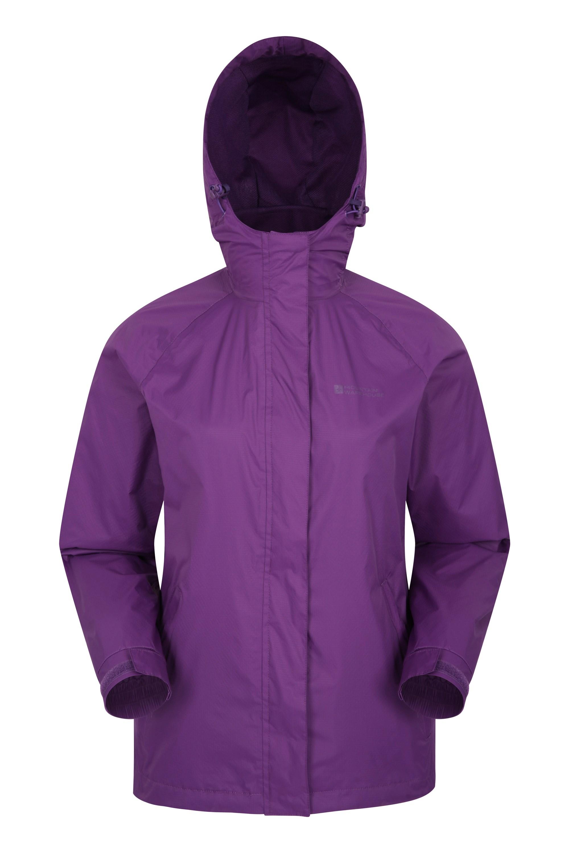 Torrent Womens Waterproof Jacket - Purple