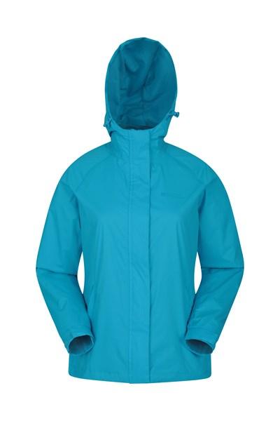 Torrent Womens Waterproof Jacket - Turquoise