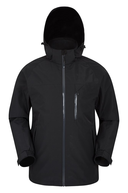 Brisk Extreme Mens Waterproof Jacket - Black