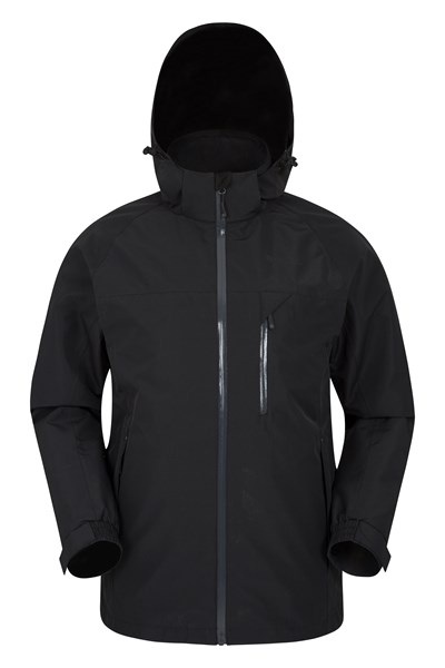 Brisk Extreme Mens Waterproof Jacket - Black