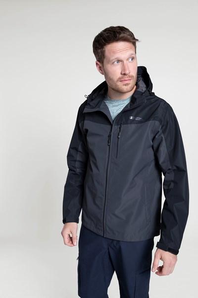 Brisk Extreme Mens Waterproof Jacket - Grey