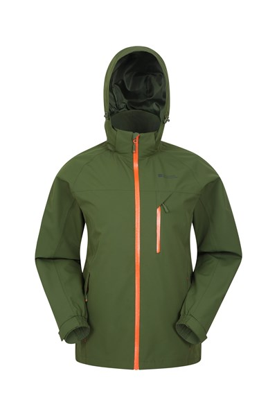 Brisk Extreme Mens Waterproof Jacket - Green