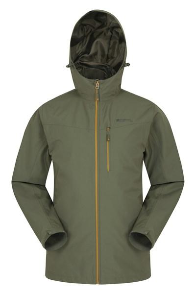 Brisk Extreme Mens Waterproof Jacket - Green