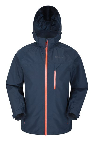 Brisk Extreme Mens Waterproof Jacket - Navy