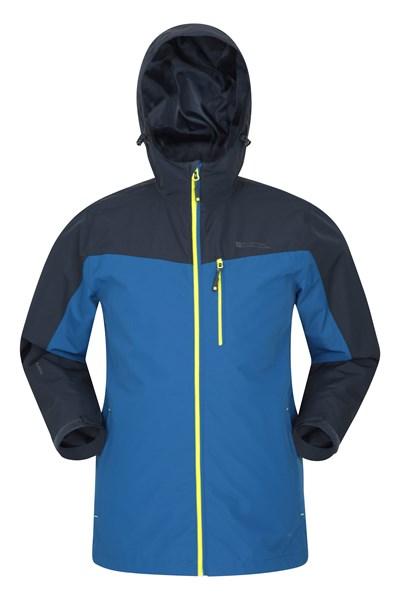Brisk Extreme Mens Waterproof Jacket - Blue