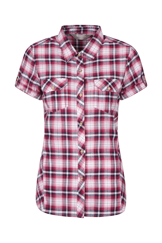 Holiday Womens Cotton Shirt - Pink