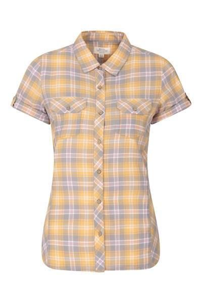 Holiday Womens Cotton Shirt - Yellow