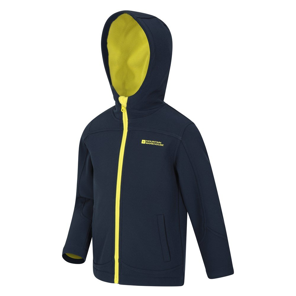 Mountain-Warehouse-Kids-Softshell-Jacket-Hooded-Fleece-Lined-Boys-Girls-Coat thumbnail 13
