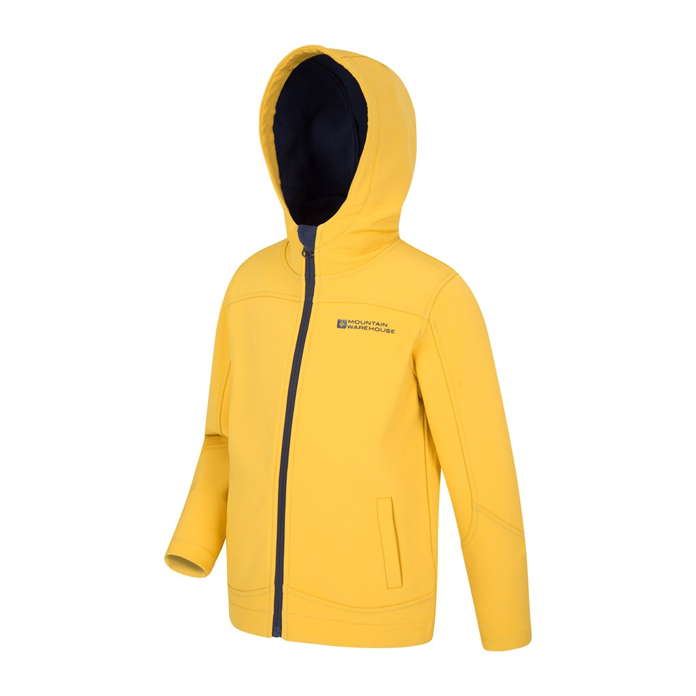 Mountain-Warehouse-Kids-Softshell-Jacket-Hooded-Fleece-Lined-Boys-Girls-Coat thumbnail 71