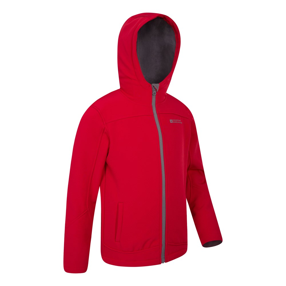 Mountain-Warehouse-Kids-Softshell-Jacket-Hooded-Fleece-Lined-Boys-Girls-Coat thumbnail 65