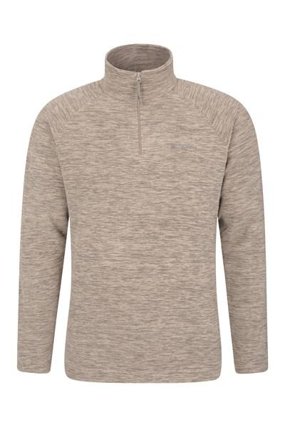 Snowdon Mens Micro Fleece - Beige