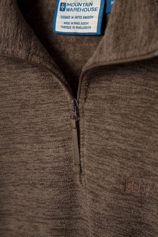 Mountain Warehouse Snowdon Full Zip Fleece Antipill /& Breathable