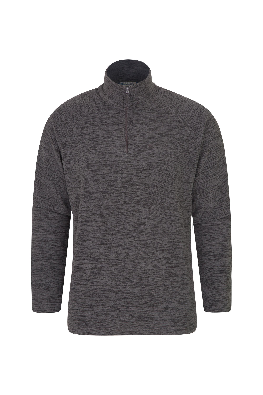 Snowdon Mens Micro Fleece - Grey