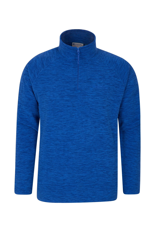 Snowdon Mens Micro Fleece - Blue