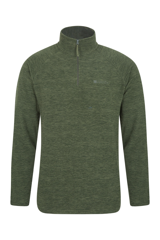 Snowdon Mens Micro Fleece - Green