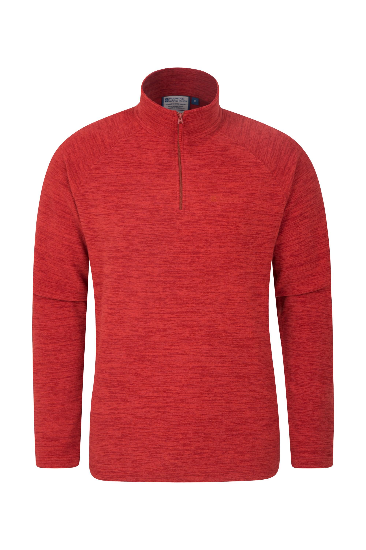 Snowdon Mens Micro Fleece - Red