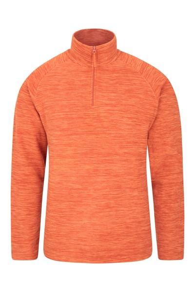 Snowdon Mens Micro Fleece - Orange