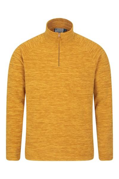 Snowdon Mens Micro Fleece - Yellow