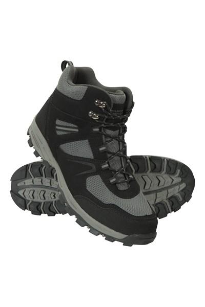 Mcleod Wide Fit Mens Boots - Black