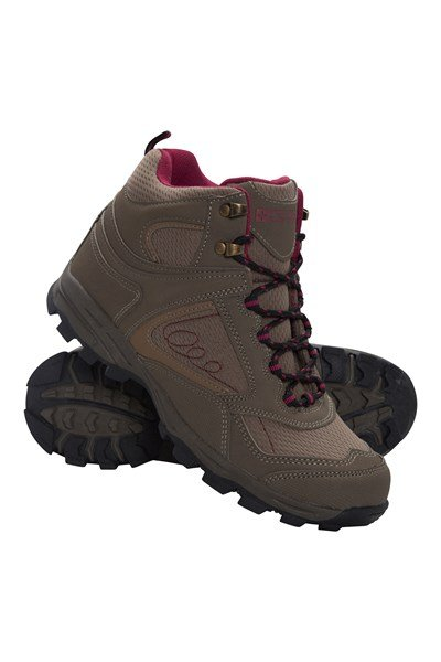 Mcleod Wide Fit Womens Boots - Brown