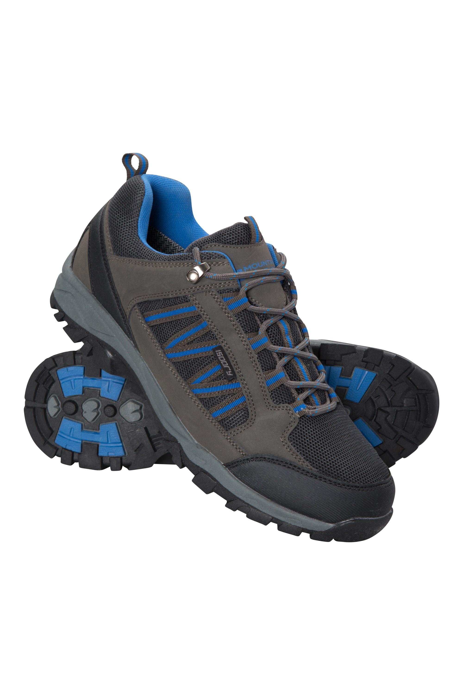 Path Waterproof Mens Walking Shoes - Grey