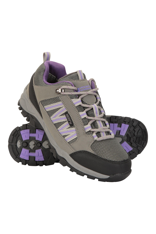 Path Waterproof Womens Walking Shoes - Grey