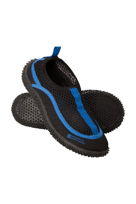 Mixed Size MOUNTAIN WAREHOUSE Kids Size 2 3 Blue Black Bermuda Aqua Water Shoes