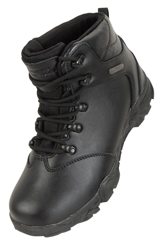Canyon Kids Leather Waterproof Walking