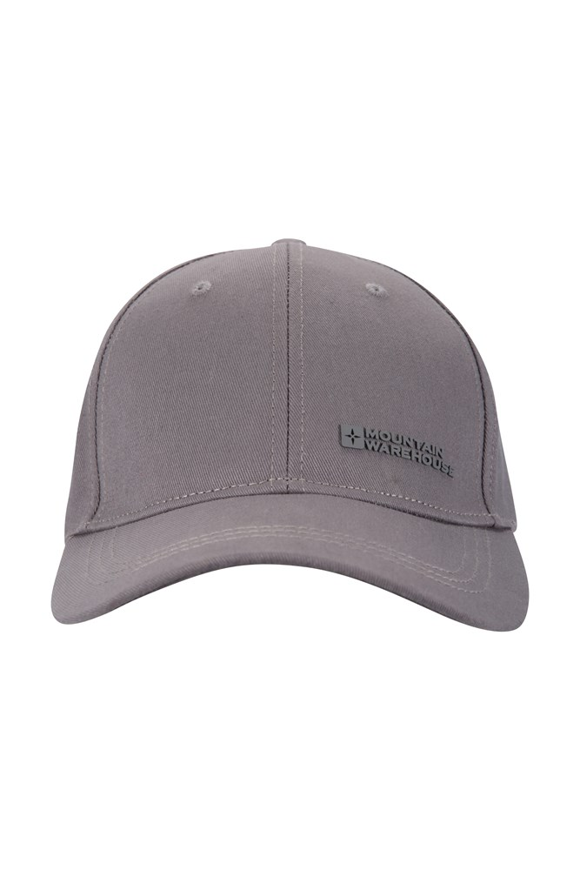 Mens Baseball Cap - Grey