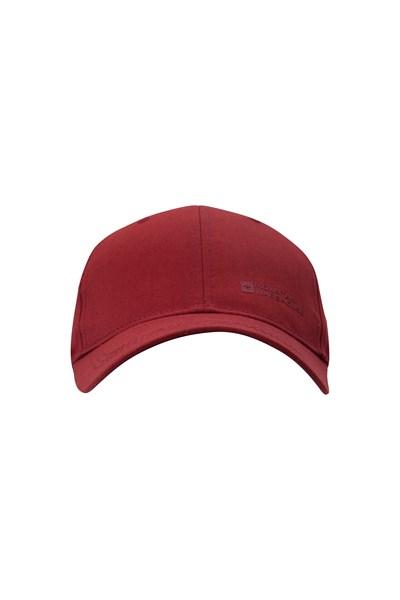Mens Baseball Cap - Red