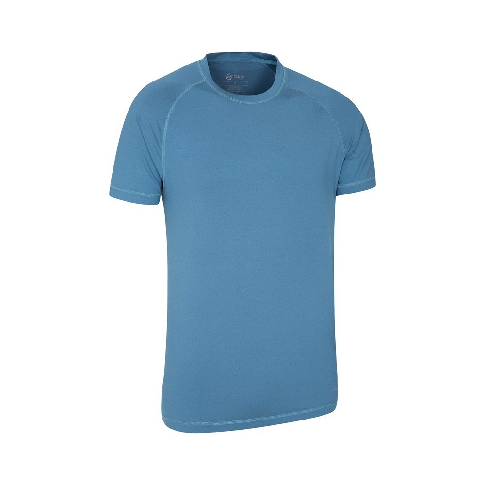 Mountain Warehouse Mens Tshirt Quick Dry with IsoCool Fabric and UV30 Protection
