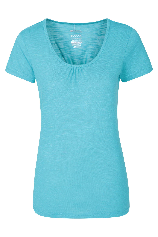 Agra Womens T-Shirt – Blue